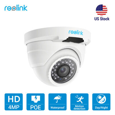Reolink 4MP PoE IP Camera Home Security Outdoor Night Vision Doom CCTV RLC-420