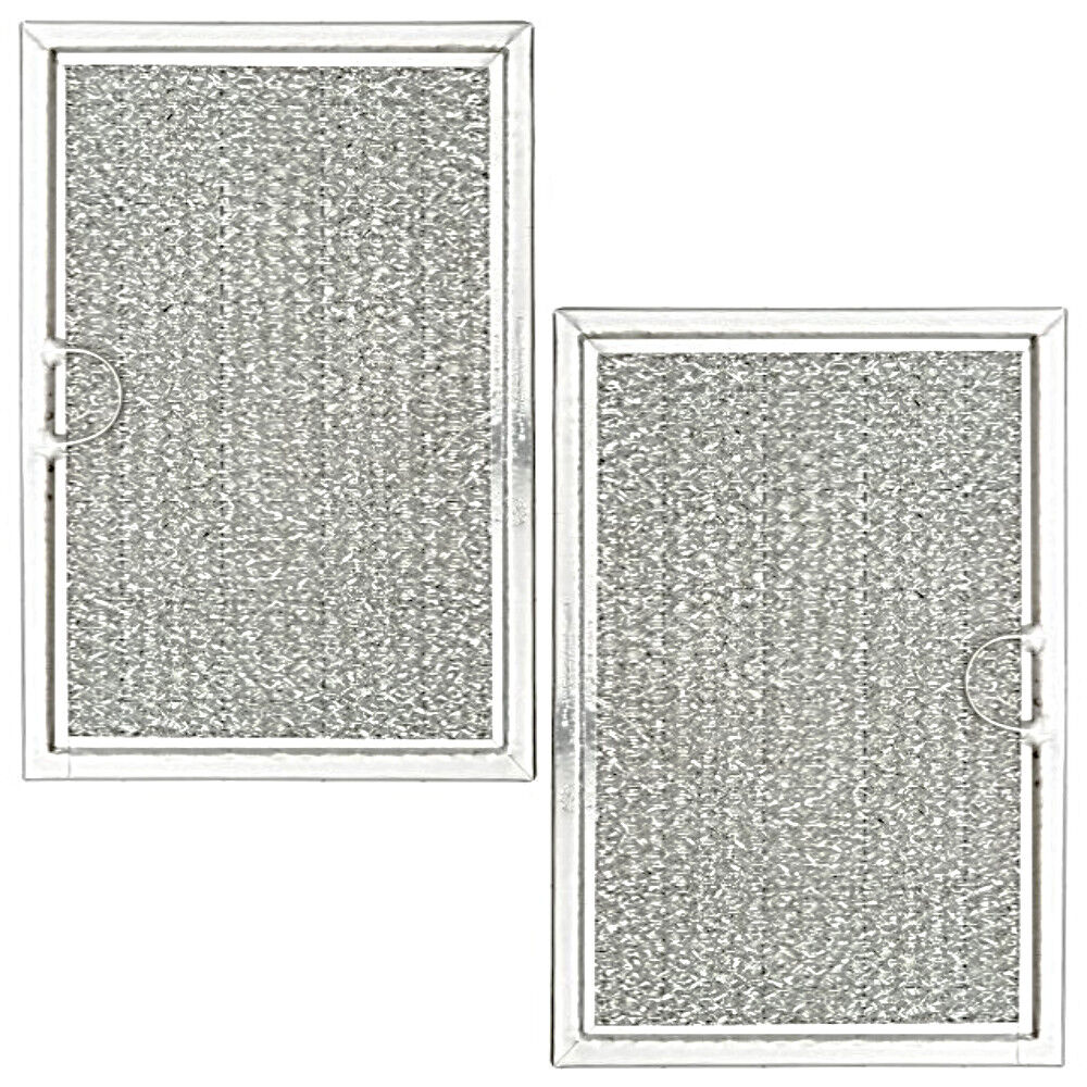Microwave Oven Grease Filter 2pk Mesh Screen for Frigidaire
