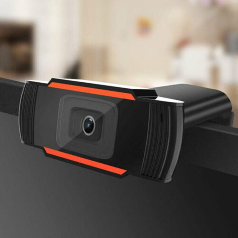 Rotatable 2.0 HD Webcam PC Laptop USB Camera Video Recording