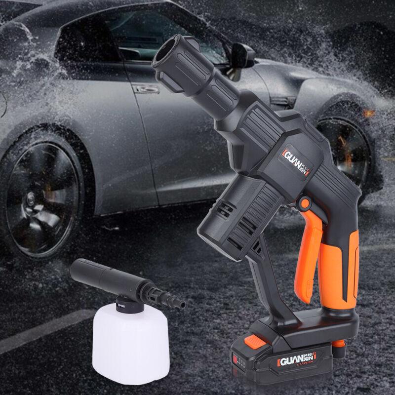 12V High Pressure Washer Car Portable Water Pump Cleaner Auto Washing Spray Gun