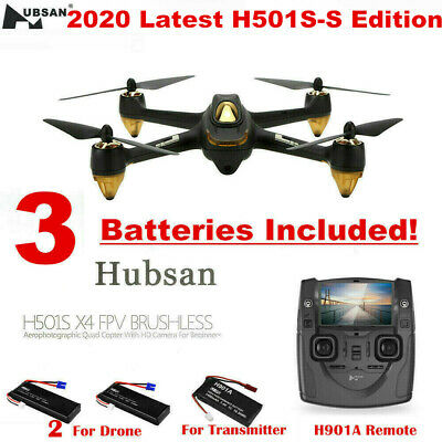 Hubsan X4 H501S S Drone 5.8G Video Brushless RC Quadcopter 1080P Camera GPS RTF