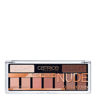 The Fresh Nude CATRICE Palette Make Up Ombretti Donna 10 gr Palette