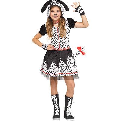 Tween Girls Spotted Sweetie Dalmatian Costume - Tween Costumes Girls