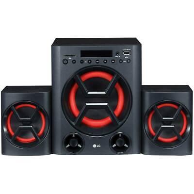 LG Electronics LK72 Stereoanlage AUX, Bluetooth®, SD, USB, Wandmontage 2 x 20 W