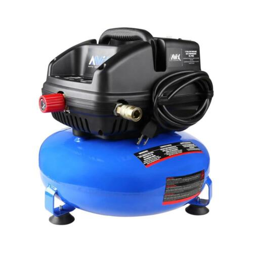 3 Gal. Portable Electric 100 psi Oil-less Pancake Air Compressor