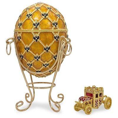 """1897 Coronation Faberge Egg 7"""""""