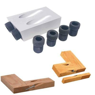 Massca Pocket Hole Jig set. 15 Degree. Adjustable 6,8 and 10mm.Ultra Resistant