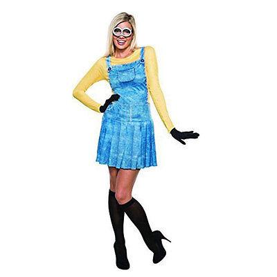 Ladies Minions Fancy Dress Costume](Minion Lady Costume)