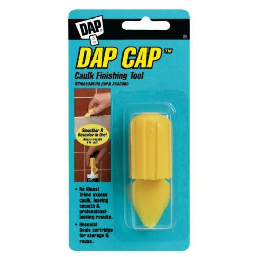 DAP CAP CAULK & SEALANT CAP TOOL FORCES CAULK INTO JOINTS FINISHING & SMOOTHING