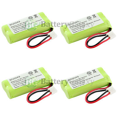 4 NEW Cordless Home Phone Battery for AT&T Lucent BT18433 BT28433 1,500+SOLD