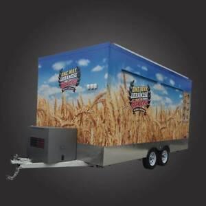 5m x 2.4m x 2.4m Tandem Food Van Trailer