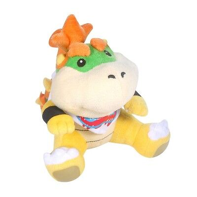 Sanei Super Mario Series 7 inch Bowser Koopa Jr. Plush Toy Plush Doll