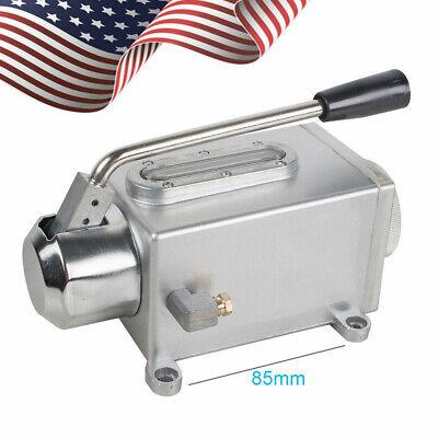 Usa Hand Pump Lubricator Lubricating Oil Pump Manual Milling Punching Machine