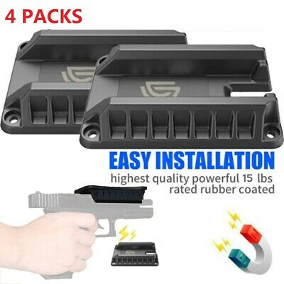 4PCS Magnetic Gun Mount Handgun Concealed Tactical Firearm Accessories For Truck Fire Arm Gun Accessory