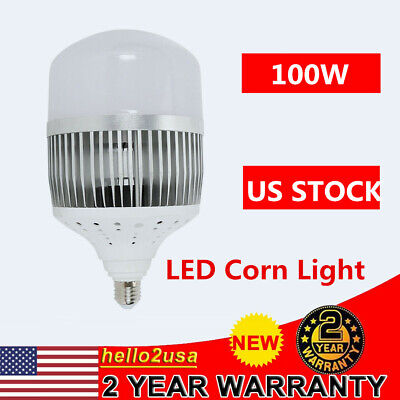 100w E27 10000lm Led Work Light Universal High Bay Light Warehouse Factory