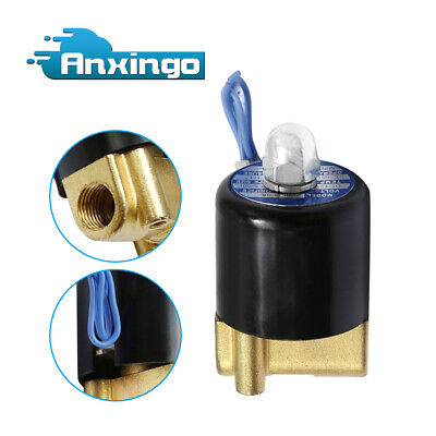 Dc12v 14 Electric Solenoid Valve Water Air Gas Diesel 2w-025-08 Us Stock