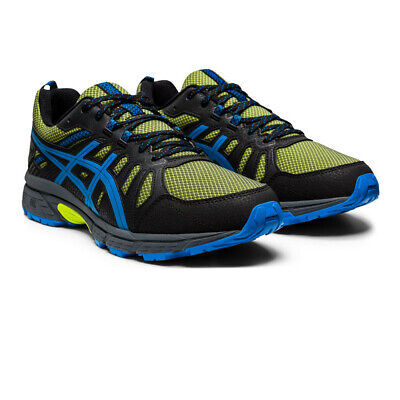 Asics Mens Gel-Venture 7 Trail Running Shoes Trainers Sneakers - Black Yellow