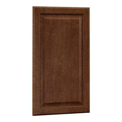 Hampton Bay 0.75x27.80x16 in. Hampton Island Decorative End Panel in Cognac (Cabinet End Panels)