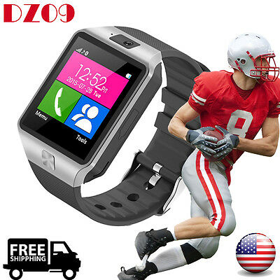 DZ09 Bluetooth Smart Watch GSM SIM Camera for iPhone Samsung Android Phone Breed