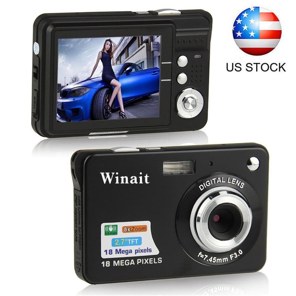 "Hd 720p 2.7"" Tft Lcd Digital Camera Video Camcorder 18mp ..."