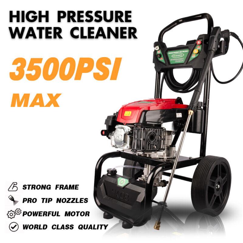 ZEMANOR 7HP Max 3500PSI Gasoline High Pressure Washer Gas Pressure Cleaner