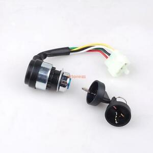 Key 5 Pin Ignition Switch For Chinese 150cc 250cc Hammerhead Go Kart  Dune Buggy
