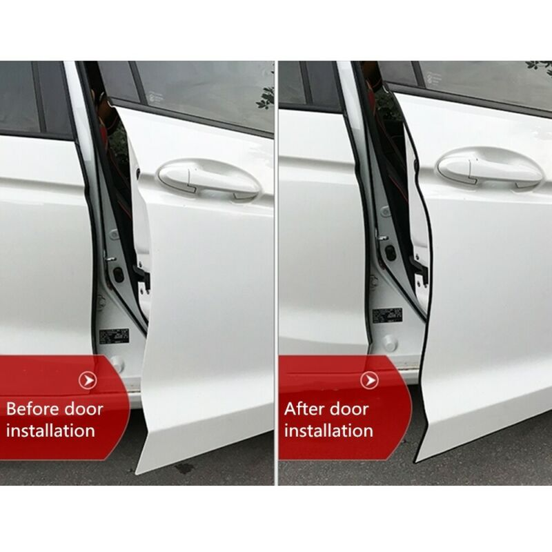 Car Door Guard Edge Protector Black Strip 2m  NEW