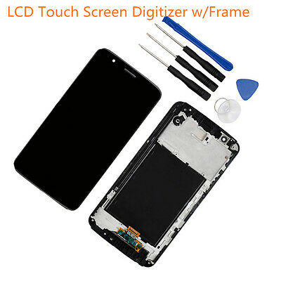 """Gray LCD Touch Screen Digitizer+Frame For LG Stylo 3 L83BL L84VL M430 LS777 5.7"""""""