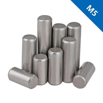 M5 Bearing steel Parallel Pins Dowel Pins Cylindrical Pins Position Pins DIN7