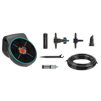 Gardena Solar-Bewässerung Aquabloom Set 13300 Pump Dripper Mds