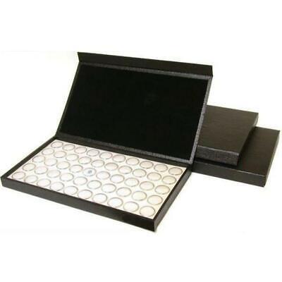 3 Boxes of White 50 Gem Jars Stone Storage Display Box