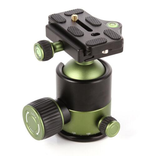 Pro 20KG Heavy Duty Tripod Monopod Ball Head DSLR Camera 1/4