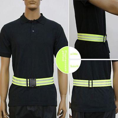 Belt High Visibility Safety Jogging Walking Reflective Stripe Gear Biking