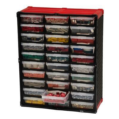 Small Plastic Parts Organizer Tool Storage Rack Bin Drawer Nuts Bolts Wall Bench Small Drawer Organizer