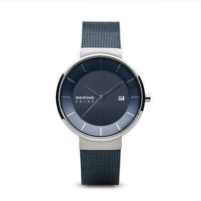 BERING Time Reloj - Hombre Solar Color Plata Pulido 14639-307