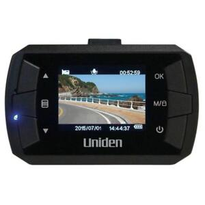 "Uniden DC1, 1080p Full HD Dash Cam, 1.5"" LCD, G-sensor with collision detection, loop recording, 140-degree wide angle l"