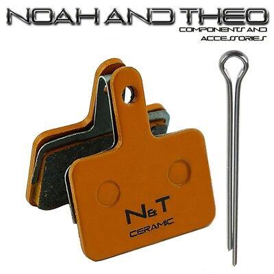 N&t Shimano Br M486 M495 M505 M506 M515 M515LA Cerámica Pastillas Freno...