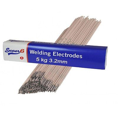 Arc Welding Welder Electrode Rod 5 Kg Kilo Mild Steel 3.2 mm Type 6013 WG/7402
