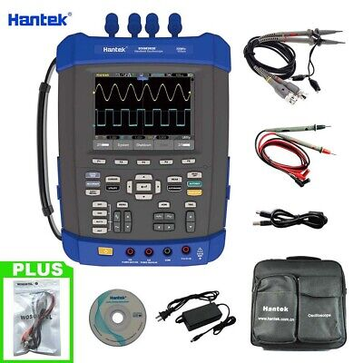 Hantek Dso8202e 6in1 Digital Oscilloscope 200mhz 1gsas 6000 Count Multimeter