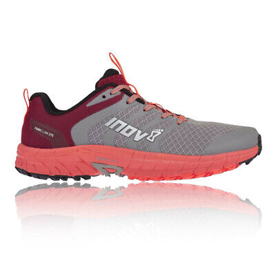 Inov8 Womens PARKCLAW 275 Trail Running Shoes Trainers Sneakers Grey Pink Sports