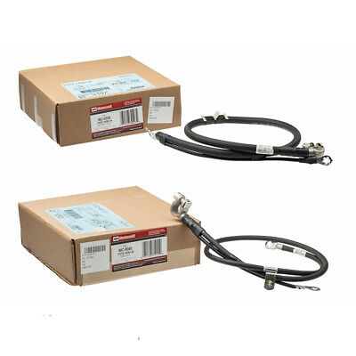 OEM NEW Dual Battery Negative Cable Set 7.3L Diesel Super Duty F5TZ-14301-A Dual Battery Cable