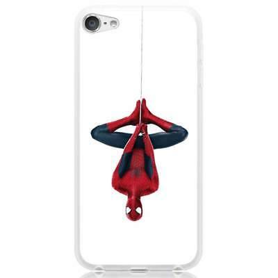 Apple iPhone 6/6S/6 Plus/7/7 Plus/8/8 Plus/X Case Cover Spiderman Hanging
