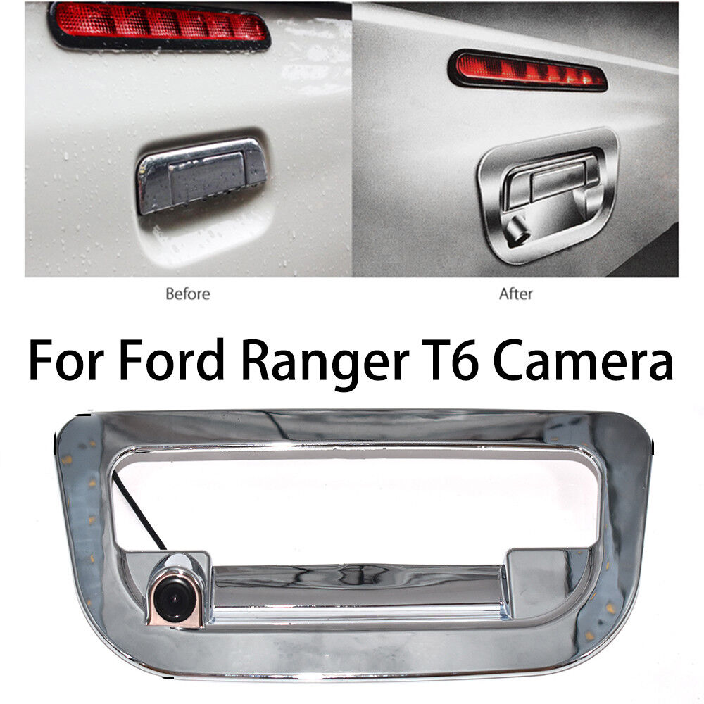 HD Car Rear View Reverse Trunk Handle Backup Camera for Ford Ranger T6 2011~2018