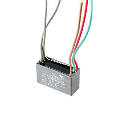CBB61 3.5uf+4uf+2.5uf 5 Wires AC 250V 300V 50Hz/60Hz Capacitor for Ceiling Fan