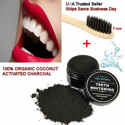 Buy and sell Natural Teeth Whitening Activated Charcoal Toothpaste Powder Bamboo Toothbrush products
