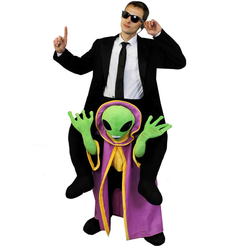 b6710579b MENS ALIEN COSTUME SPACE MARTIAN MAN HALLOWEEN FANCY DRESS SKIN SUIT ...