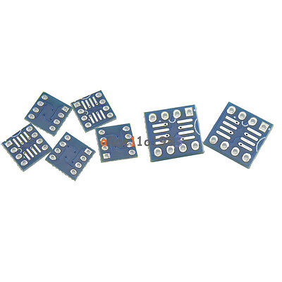 102050100pcs Sop8 So8 Soic8 Tssop8 Msop8 Dip8 Adapter Pcb Conveter Board Diy