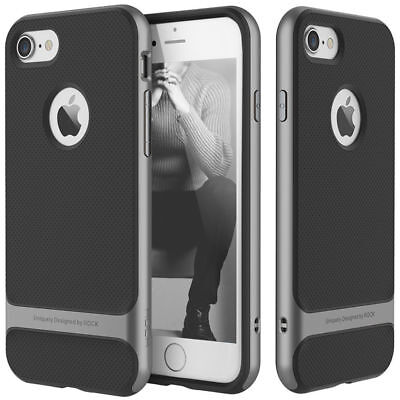 Slim Hybrid Shockproof Hard Bumper Soft Armor Case Cover For iPhone 6 6S Plus
