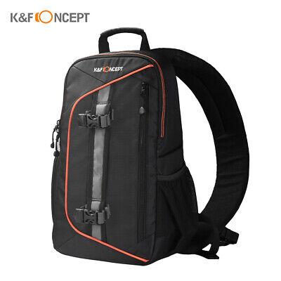 K&F CONCEPT Digital DSLR Camera Bag Backpack Case Sling Shoulder Waterproof Z1A6