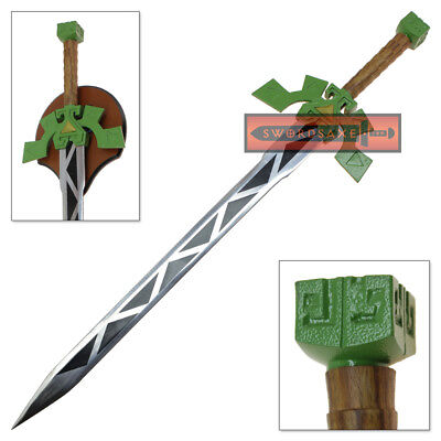 Legend Of Zelda Lokomo Sword Spirit Tracks Steel Replica Full Tang Blade Wood